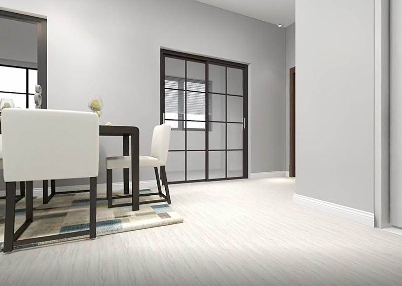 Pvc vinyl flooring plastic wood look plank