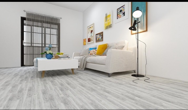 Eco-friendly non-slip self adhesive 1.5mm 1.8mm 2mm 3mm  thickness plastic wood spc flooring
