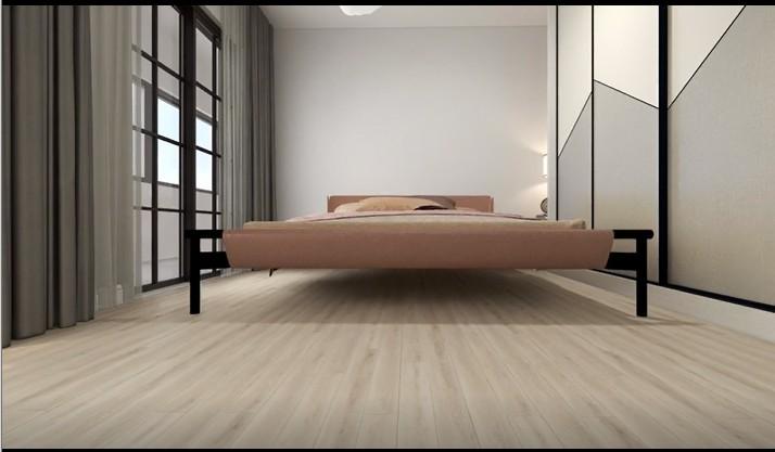 Home design eco self adhesive vinyl flooring SPC plastic floor mats meter price