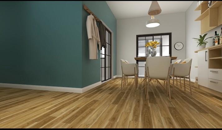 PVC Material and Plastic Flooring Type peeling and stick vinyl floor  floor tiles plastic