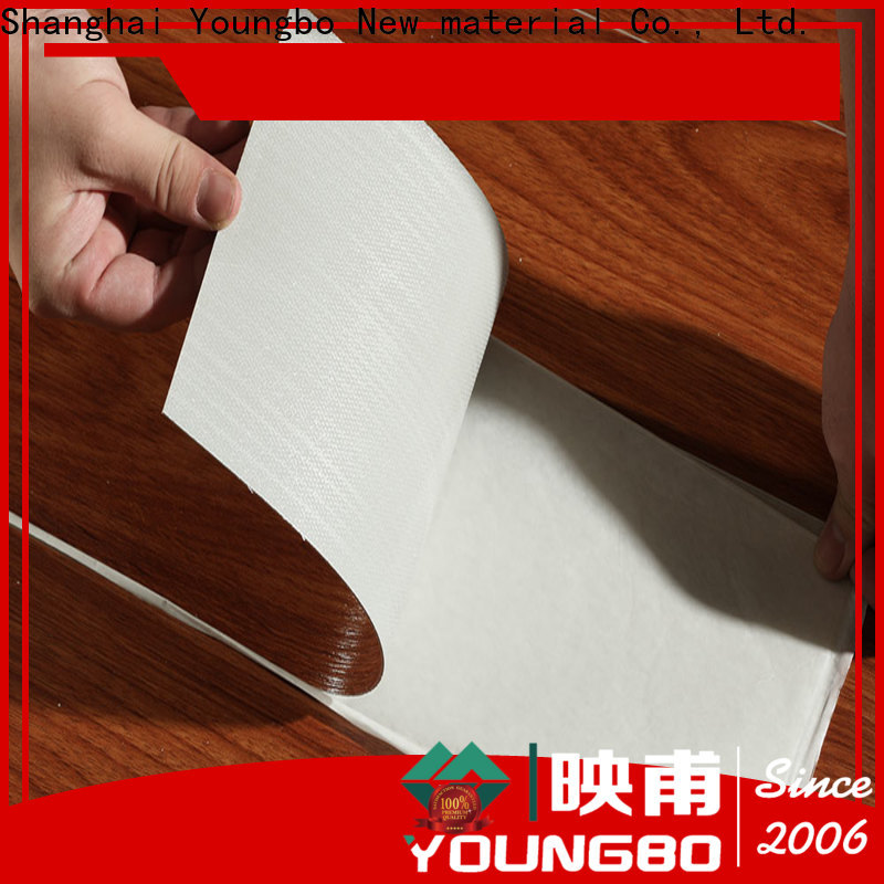 YOUNGBO vinyl pvc flooring tiles source now for home