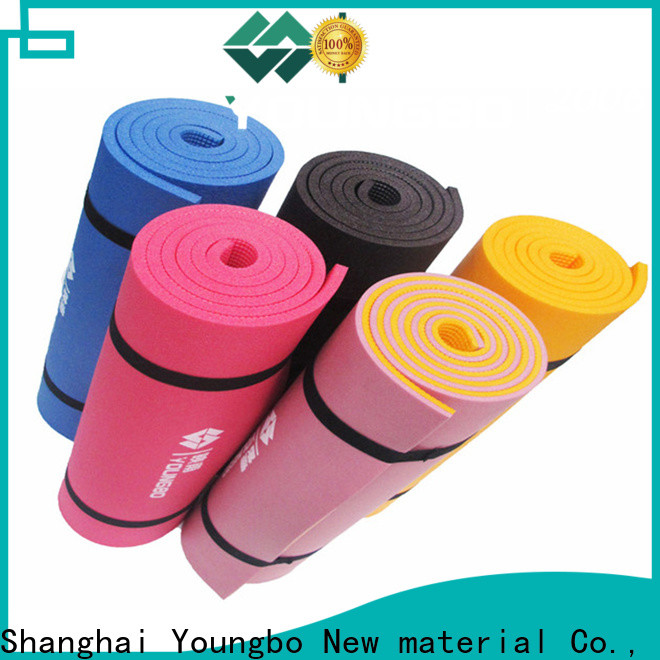 YOUNGBO hot sale foam sleeping mat for fitness