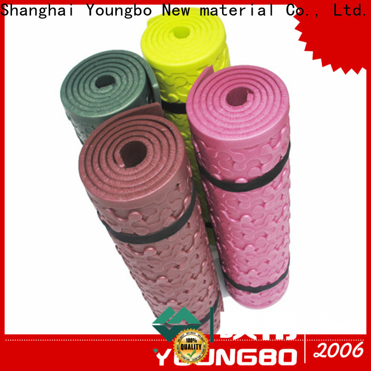 YOUNGBO embossing camping floor mat purchase online for fitness