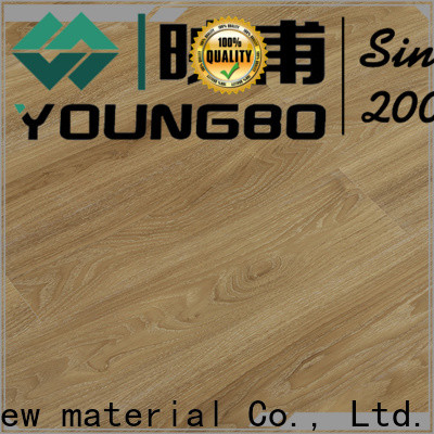 YOUNGBO 5mm interlocking SPC flooring manufacturer
