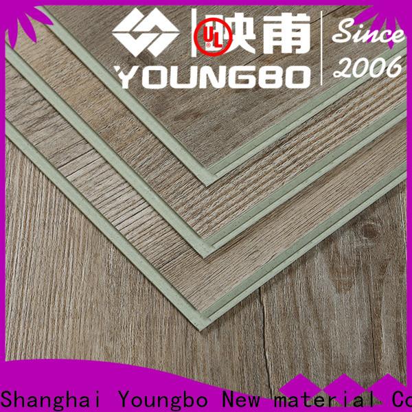 interlocking SPC flooring interlocking chinese manufacturer for dressing room