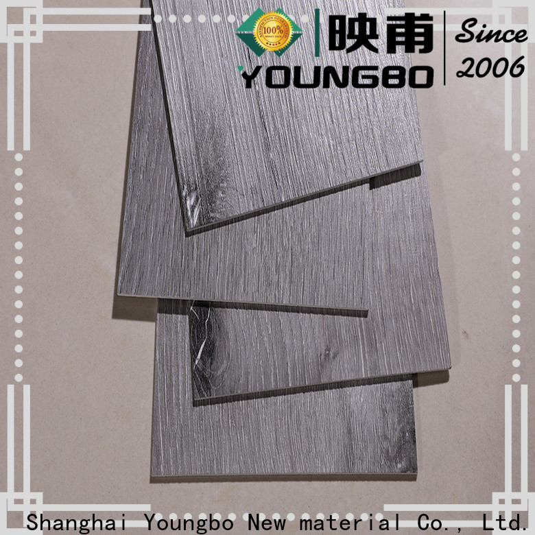 YOUNGBO cheap lvt kitchen flooring source now for bathroom