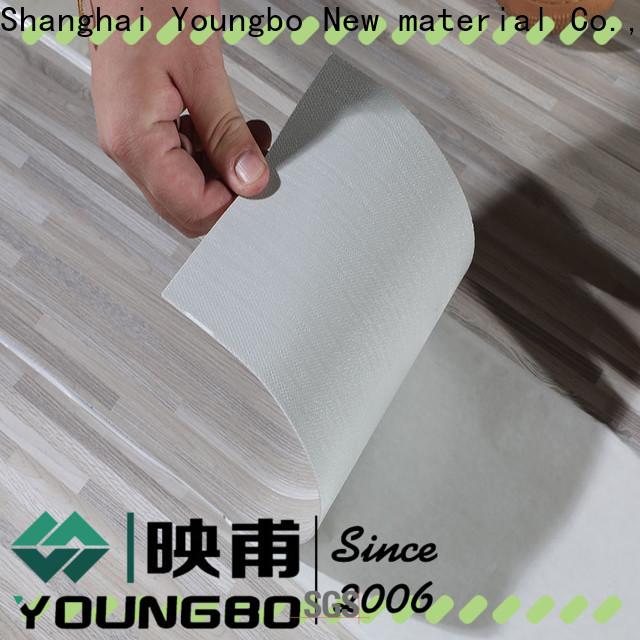 YOUNGBO cheap pvc flooring company