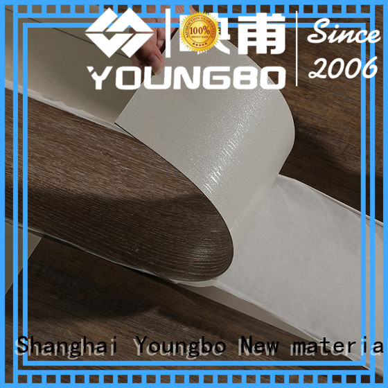 YOUNGBO trustworthy pvc floor covering popular for office