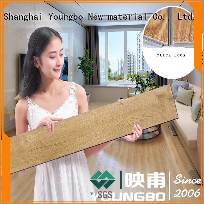 YOUNGBO 5mm vinyl locking flooring chinese manufacturer