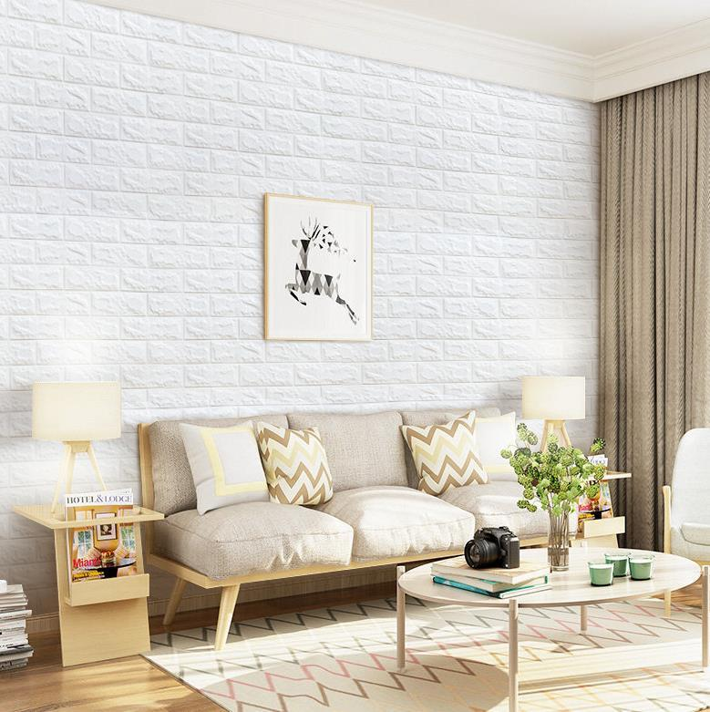 6mm Foam 3d Brick Wall Panels And Wallpaper