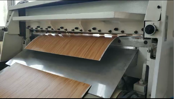 Pvc Vinyl Flooring Cutting Process
