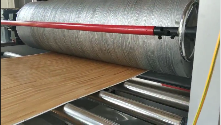 Laminating Process by flooring supplier