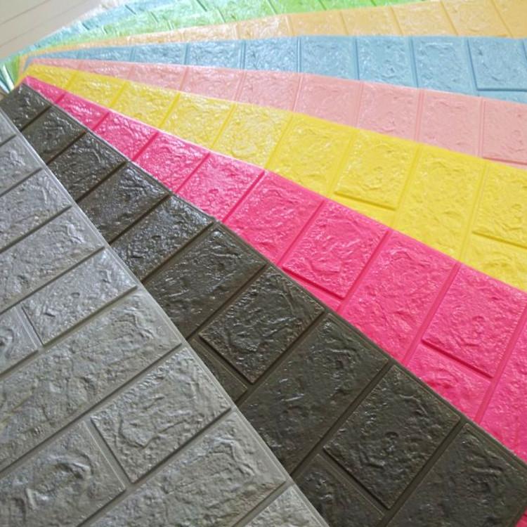 3mm Foam Brick Wallpaper Living Room