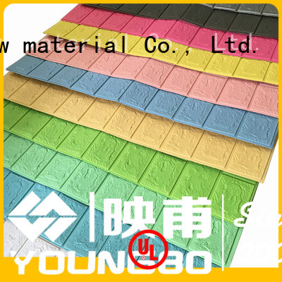 YOUNGBO wall self adhesive foam wallpaper wholesale for home