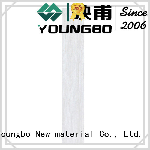 YOUNGBO flooring luxury vinyl tiles from China for home