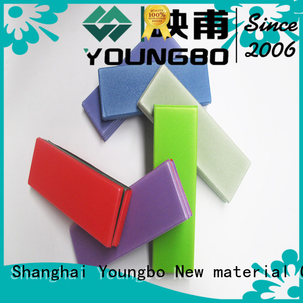 YOUNGBO shape outdoor foam mats for gym