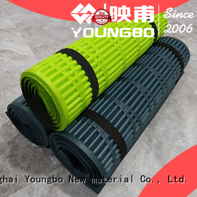 YOUNGBO alu double foam camping mattress purchase online For Gym Floor