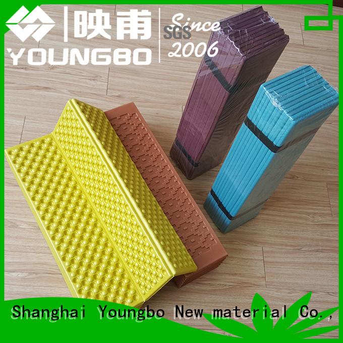 YOUNGBO embossing outdoor foam mats For Gym Floor