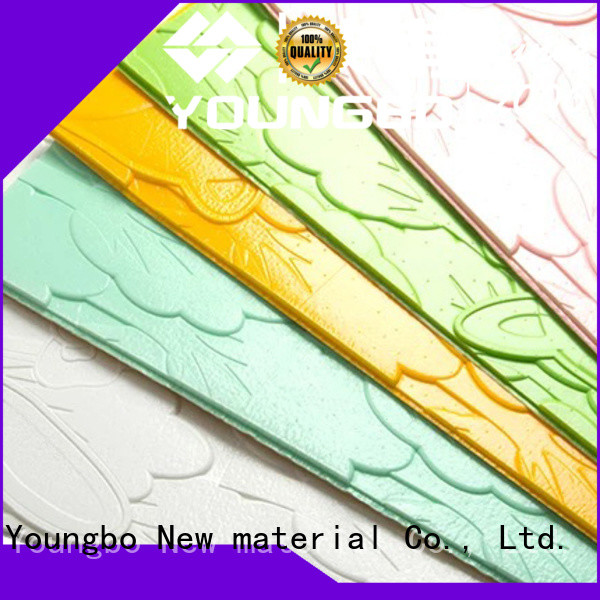 YOUNGBO 6mm stone brick wallpaper wholesale for home decoration
