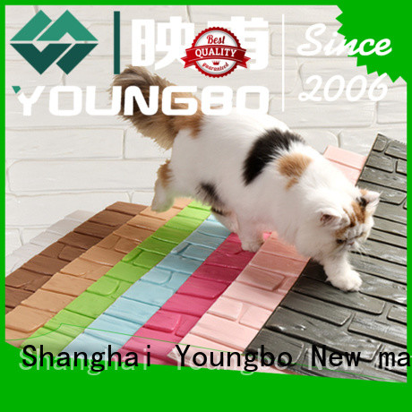 YOUNGBO good design brick effect wallpaper inquire now for home decoration