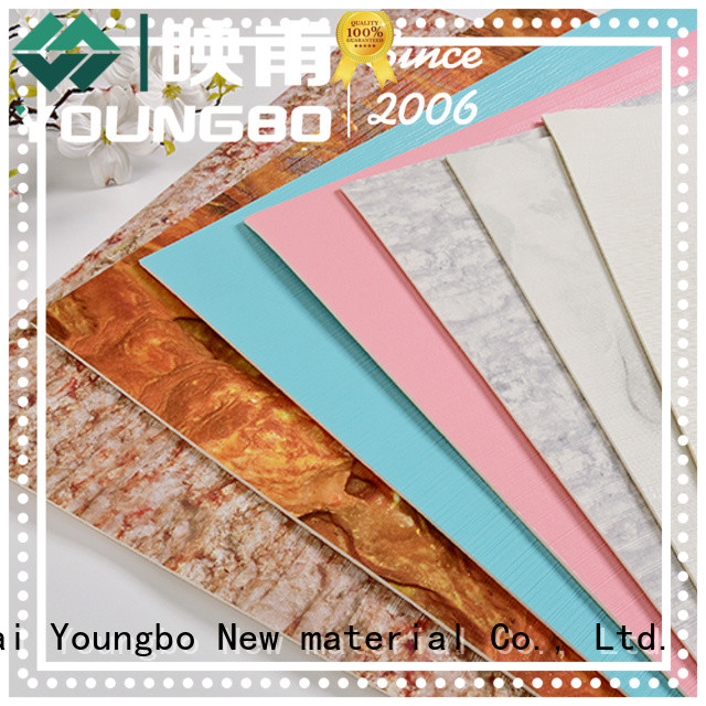 YOUNGBO textured 3d brick wallpaper with low price for home decoration