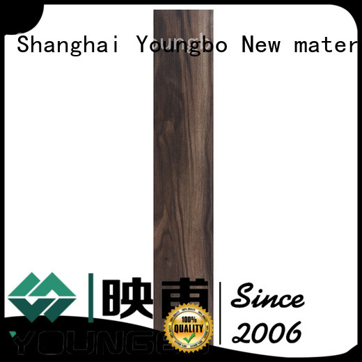 YOUNGBO 5 star reviews floating vinyl plank flooring from China for bathroom