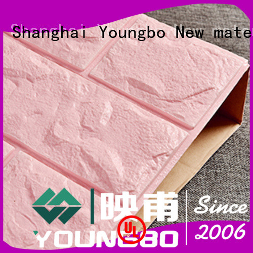 YOUNGBO peel 3d brick wallpaper request for quote for kid's room