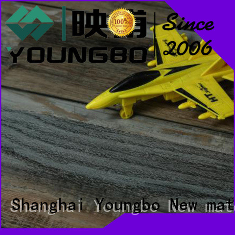 YOUNGBO 5 star reviews vinyl locking flooring from China for for Indoor Residential