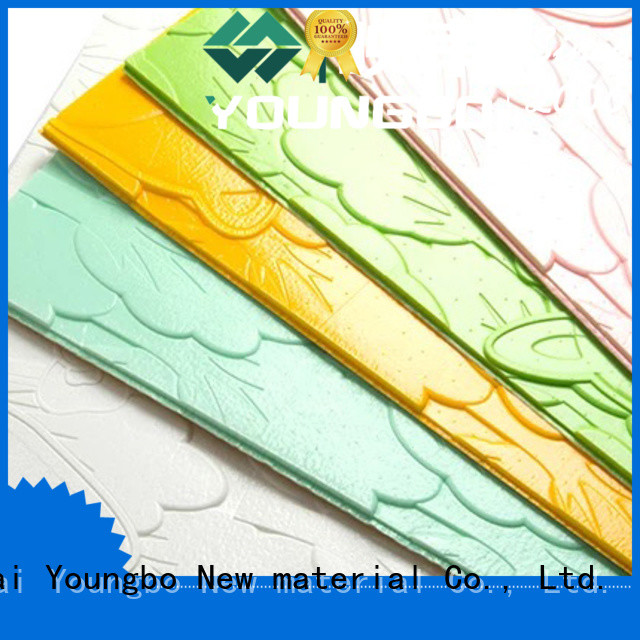 YOUNGBO reliable quality 3d brick wallpaper for home