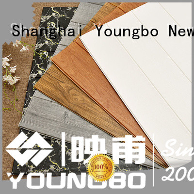 YOUNGBO good design foam brick wallpaper chinese manufacturer for home decoration