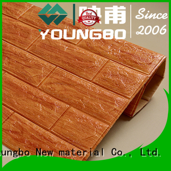 YOUNGBO stone brick wall covering wholesale for background