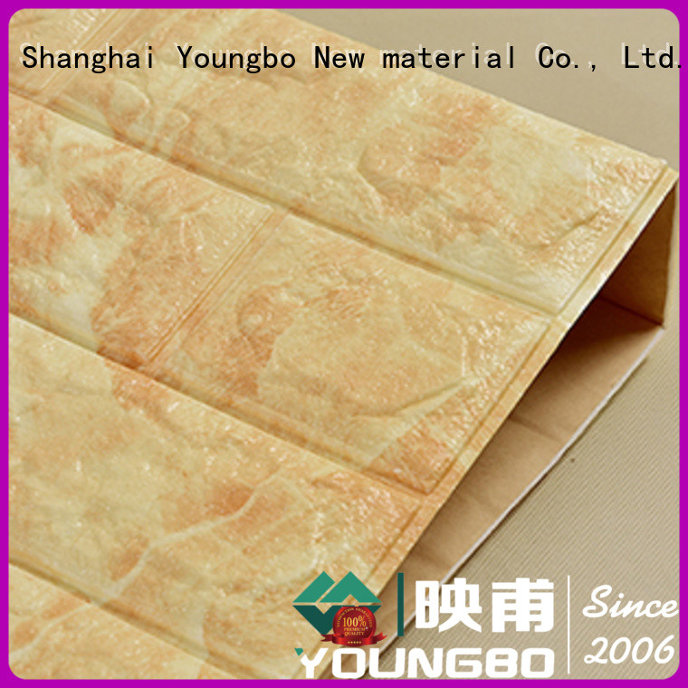 hot sell faux stone wallpaper adhesive inquire now