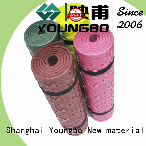YOUNGBO pattern foam mats For Gym Floor