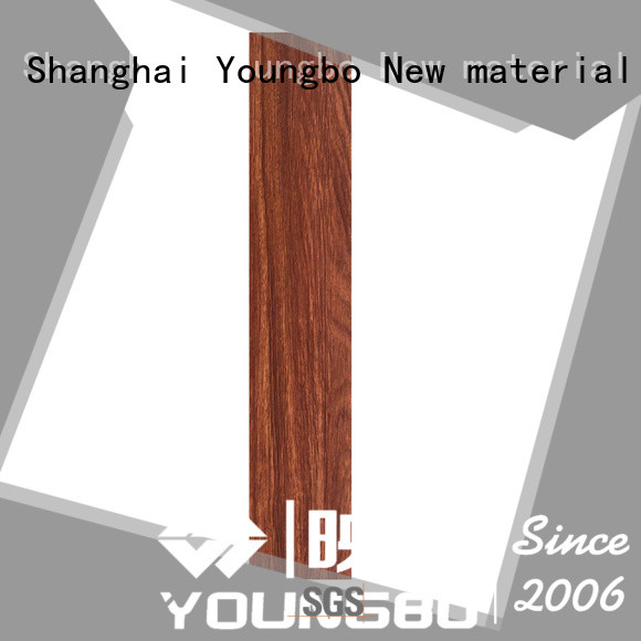 YOUNGBO cheap floating vinyl flooring order now for bathroom usage