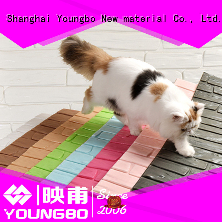 YOUNGBO red brick look wallpaper for background