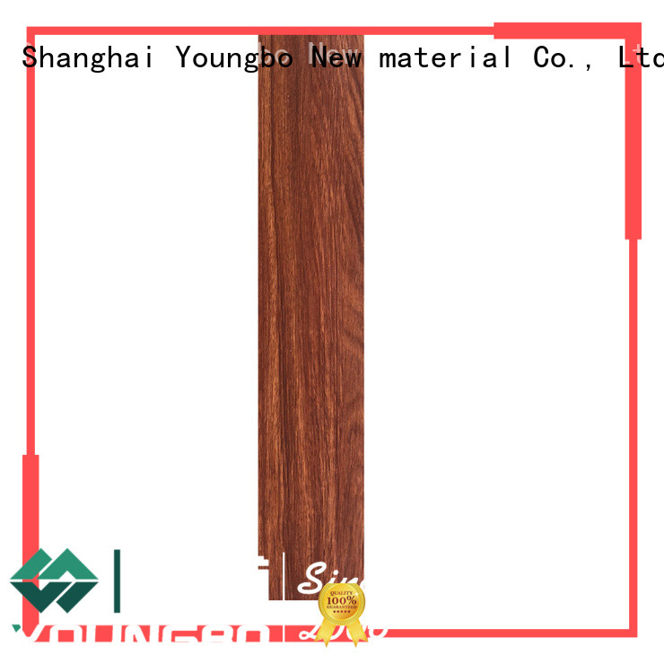 YOUNGBO best quality self-adhesive floor manufacturers for home