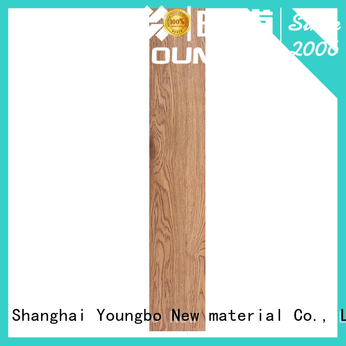 YOUNGBO adhesive lvt kitchen flooring from China for home