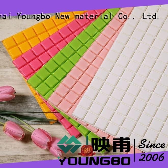 YOUNGBO good design brick effect wallpaper