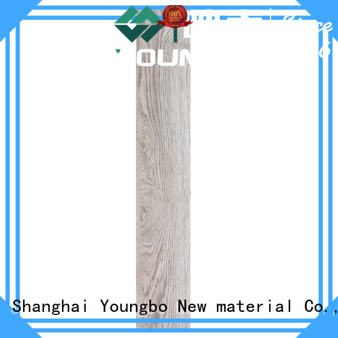 YOUNGBO hot sell luxury vinyl tiles from China for bathroom