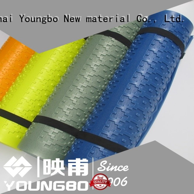 YOUNGBO trustworthy double foam camping mattress low cost for gym