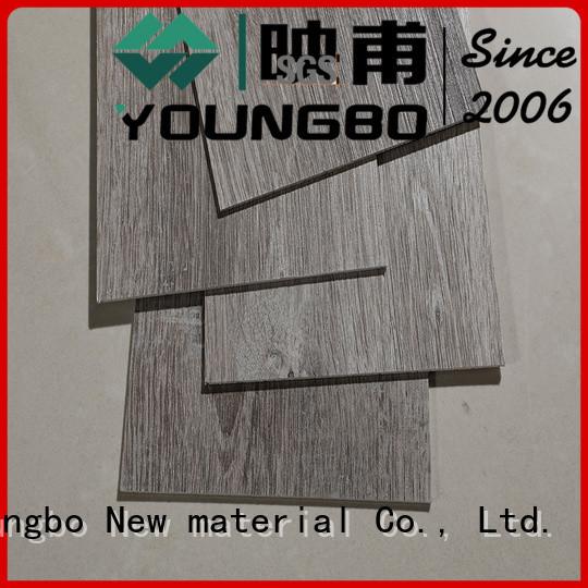 YOUNGBO self lvt floor tile great deal for bathroom
