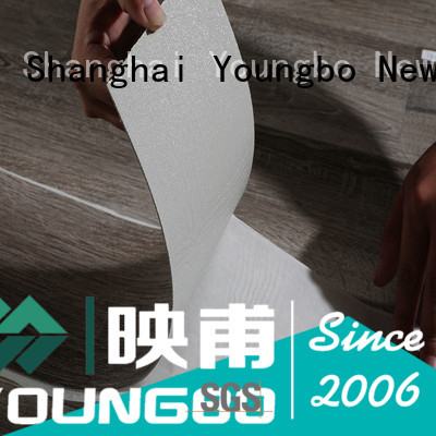 YOUNGBO foam wallpaper wholesale for bathroom usage