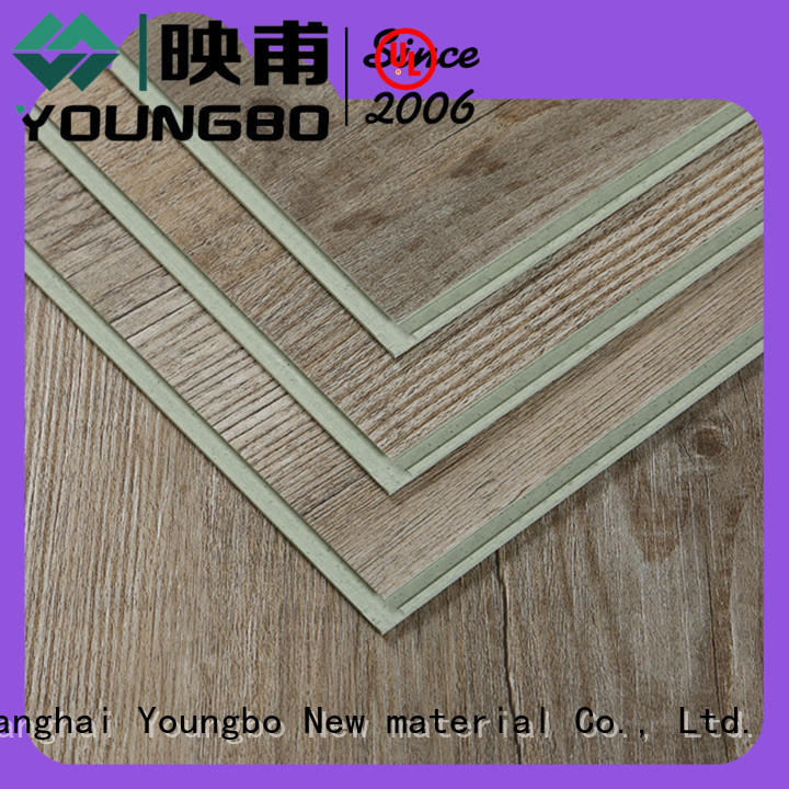 YOUNGBO cheap vinyl locking flooring chinese manufacturer for hospital