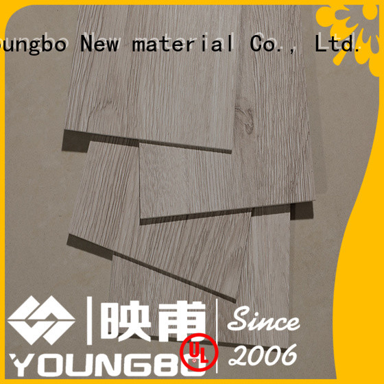 YOUNGBO 3mm self-adhesive floor from China for bathroom