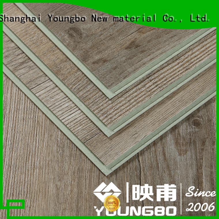 YOUNGBO spc interlocking SPC flooring wholesale for indoor flooring
