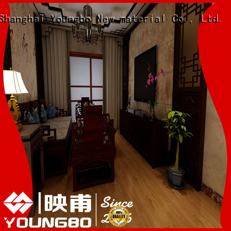 YOUNGBO hot sale Stone plastic composite for living room