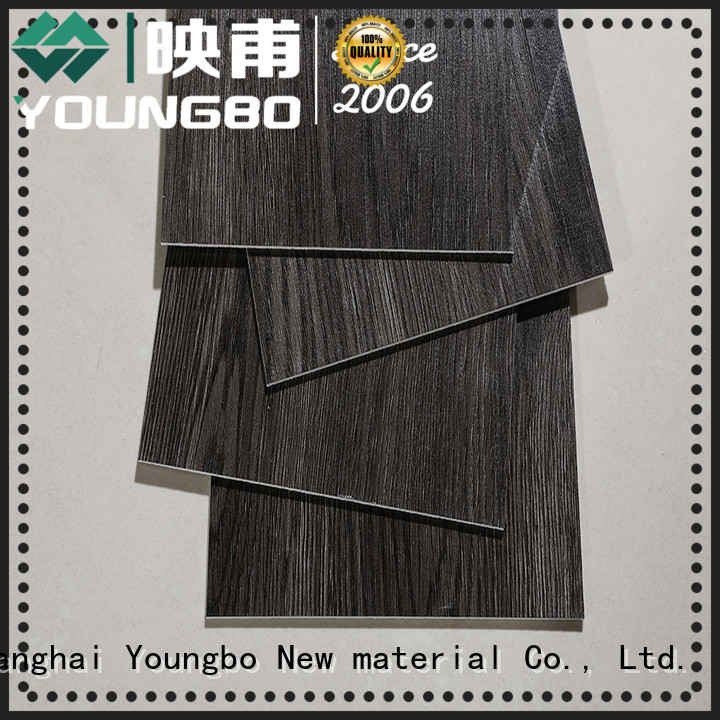 YOUNGBO 20mm lvt plank flooring source now for bathroom