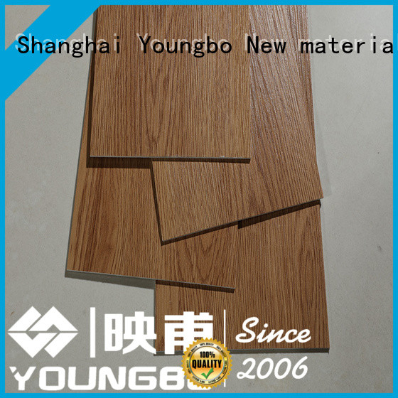 YOUNGBO 3mm luxury vinyl tiles order now for bathroom usage