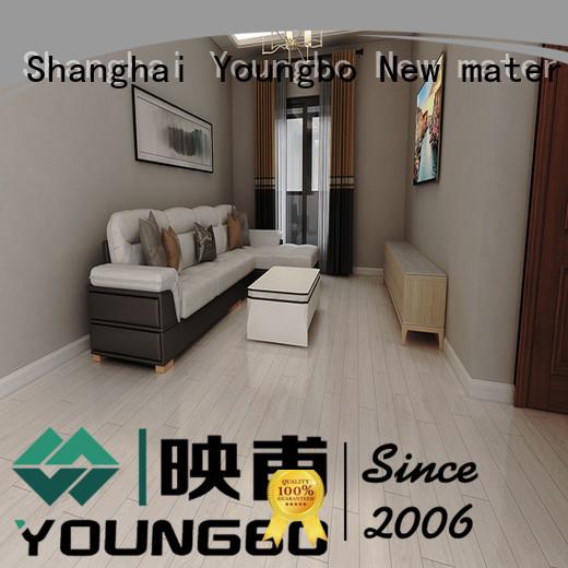 hot sale Stone plastic composite vinyl for living room