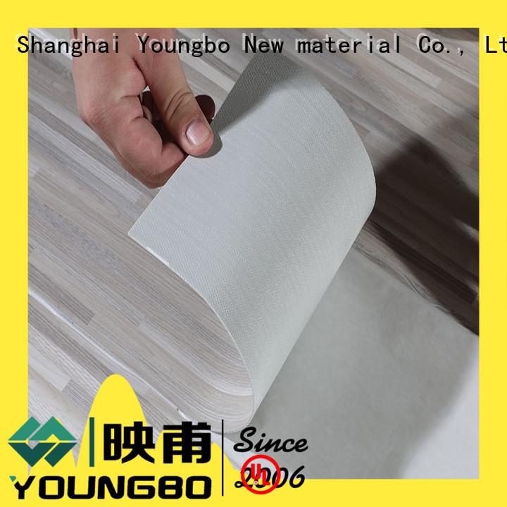 YOUNGBO pvc flooring tiles export worldwide